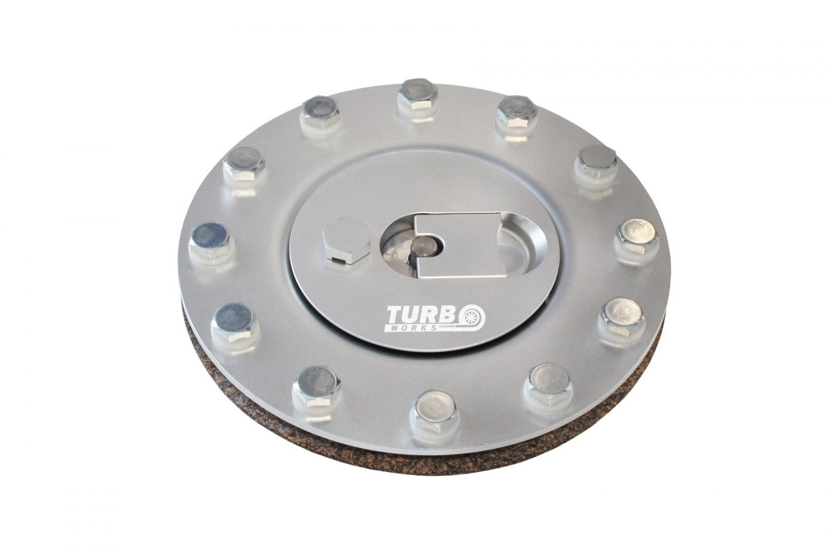 Wlew Zbiornika Paliwa Aluminiowy Srebrny - GRUBYGARAGE - Sklep Tuningowy